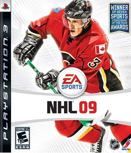 EA NHL 09 Playstation 2 3 xbox 360 vista pc video game