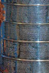 Stanley Cup championship trophy