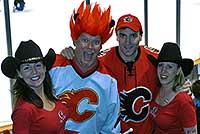 Calgary fans