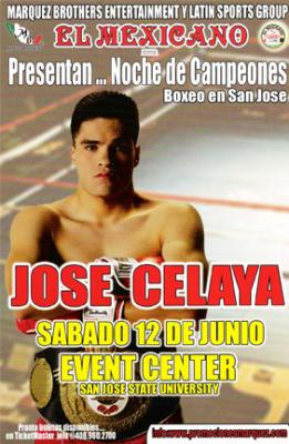 Jose Celaya boxing San Jose