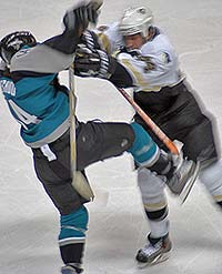 Cheechoo hit