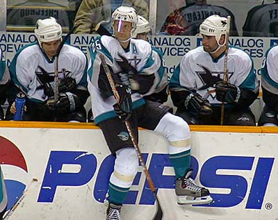 Vincent Damphousse San Jose Sharks
