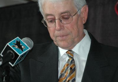 Sharks president Greg Jamison
