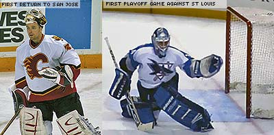 Miikka Kiprusoff playoffs San Jose and Calgary