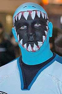 Sharks fan