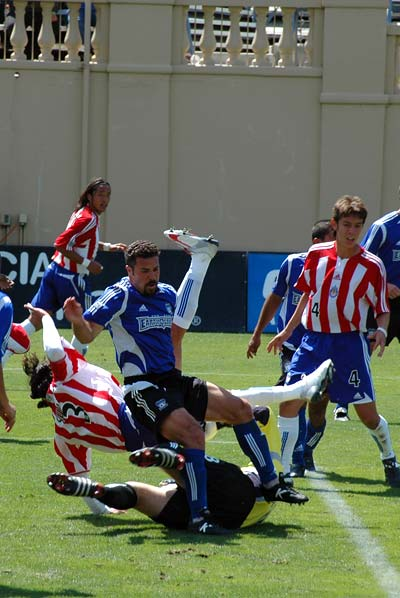 San Jose Earthquakes vs Chivas USA MLS soccer
