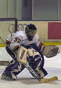SJSU goalie Joe Best