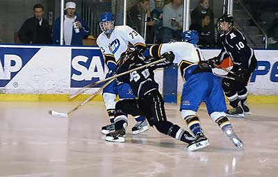 SJSU vs USU hockey