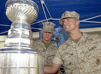 Camp Pendleton marines stanley cup