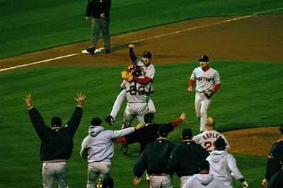 Boston Oakland game 5
