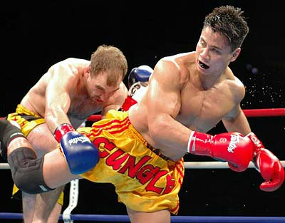 Cung Le Strikeforce kickboxing