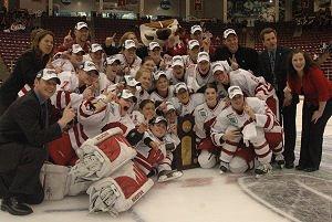 Wisconsin NCAA Womens hockey champions