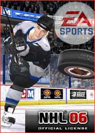 EA hockey NHL2006 video game