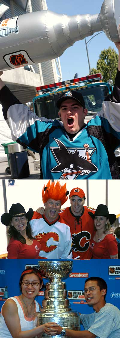 2004 Stanley Cup NHL playoff flashback pictures