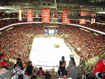 Carolina Hurricanes RBC Center