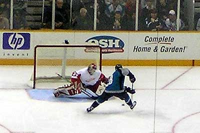 San Jose Sharks Detroit Red Wings
