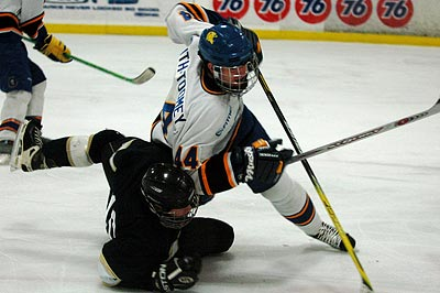 San Jose State vs BYU hockey