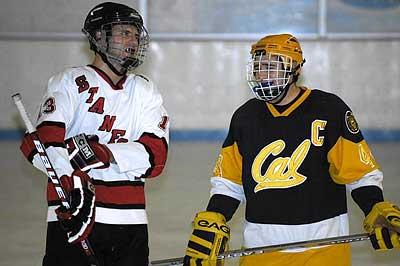Stanford Cal Berkeley Big freeze hockey