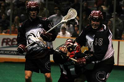 San Jose Stealth Colorado Mammoth NLL Lacrosse