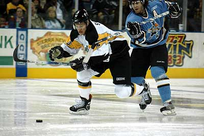 ECHL Stockton Thunder hockey