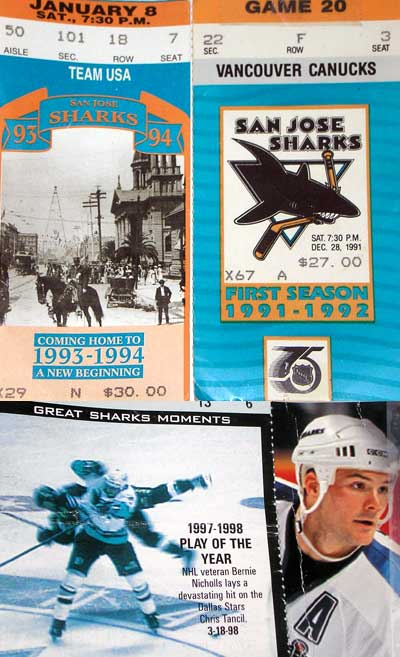 Classic San Jose Sharks tickets