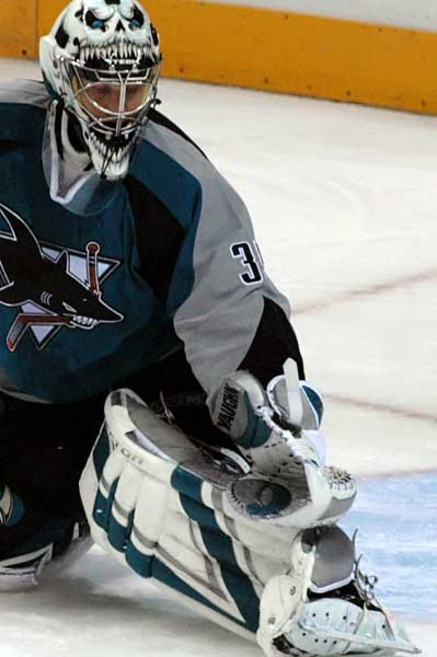San Jose Sharks Vesa Toskala