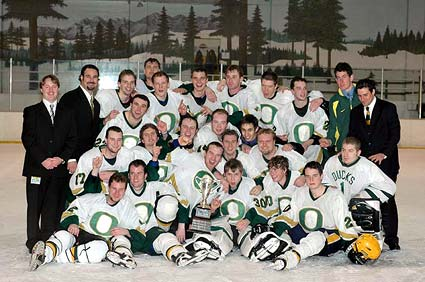 2005 Pac8 champion Oregon Ducks