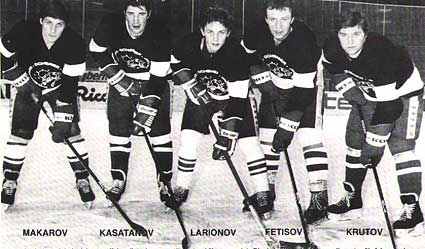 KLM Russian hockey Line