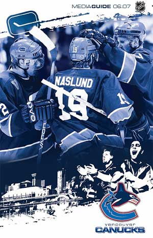 Vancouver Canucks media guide