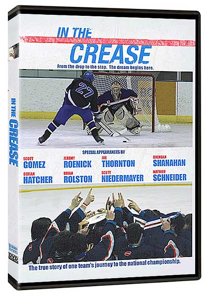 In the Crease hockey movie