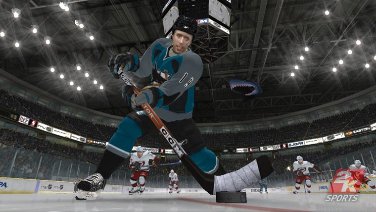 Joe Thornton NHL2K7 cover