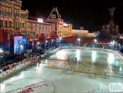 Russian hockey tribute game Red Square