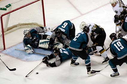 San Jose Sharks Marc Edouard Vlasic