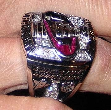 Carolina Hurricanes Stanley Cup ring
