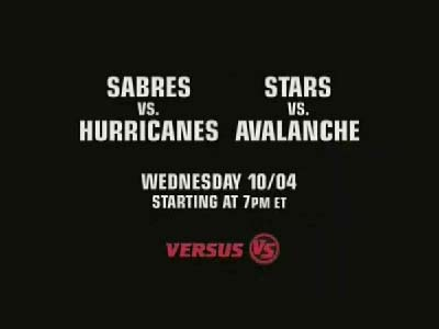 NHL opening night on Versus