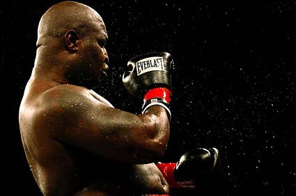 James Toney test positive for steroids
